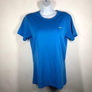 Nike Fit Dry blue tee size medium